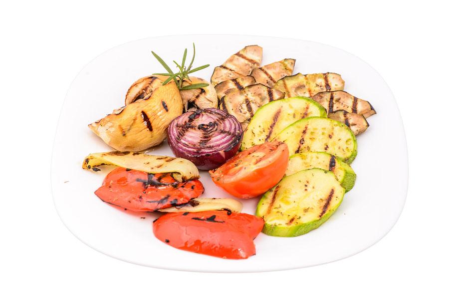 Legume/ciuperci grill