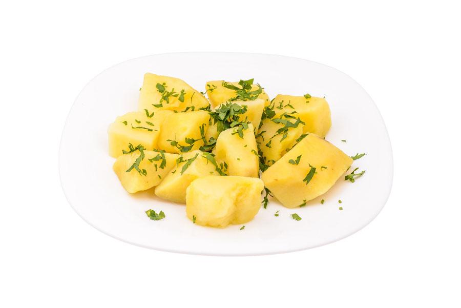 Cartofi natur cu rozmarin